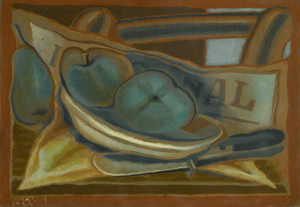 Art Prints of Apples by Juan Gris