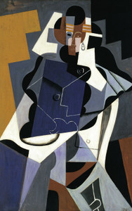 Art Prints of Seated Woman by Juan Gris