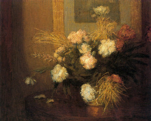 Art Prints of Peonies by Julian Alden Weir