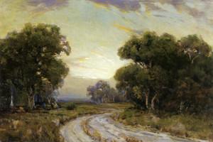 Art Prints of Evening near Jackson, Southwest texas by Julian Onderdonk
