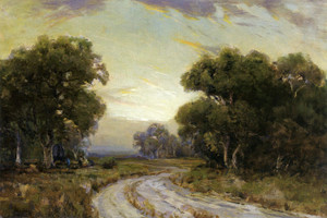 Art Prints of Evening near Jackson, Southwest texas by Julian Onderdonk