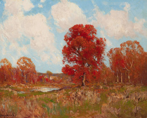 Art Prints of Fall landscape by Julian Onderdonk