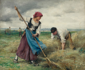 Art Prints of The Harvesting of the Hay by Julien Dupre