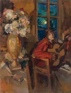 Art Prints of Evening Serenade by Konstantin Alexeevich Korovin