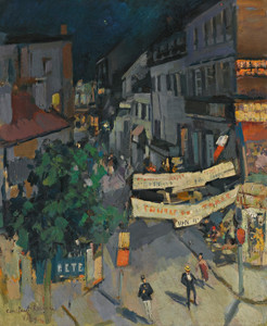 Art Prints of Vichy at Night by Konstantin Alexeevich Korovin