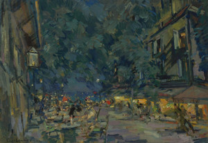 Art Prints of Vichy by Konstantin Alexeevich Korovin