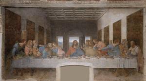 Art Prints of The Last Supper 1495-98 by Leonardo da Vinci