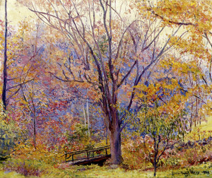 Art Prints of The Footbridge by Lilla Cabot Perry