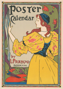 Art Prints of Poster Calendar by L. Prang and Co. (43206L) by Louis Rhead