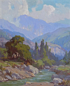 Art Prints of Bear Creek, Mount San Gorgonio by Marion Kavanaugh Wachtel