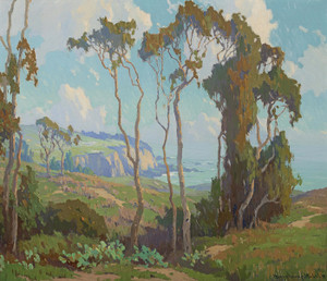 Art Prints of Eucalyptus in Laguna Beach by Marion Kavanaugh Wachtel