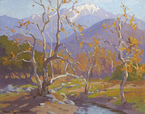 Art Prints of Mount Baldy by Marion Kavanaugh Wachtel