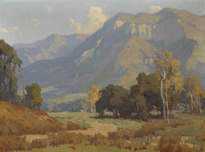 Art Prints of Santa Paula Valley by Marion Kavanaugh Wachtel