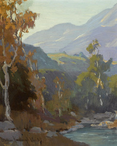 Art Prints of The Arroyo, Late Afternoon by Marion Kavanaugh Wachtel