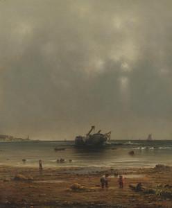 Art Prints of The Shipwreck by Martin Johnson Heade