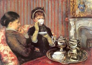 Art Prints of Five O'Clock Tea by Mary Cassatt