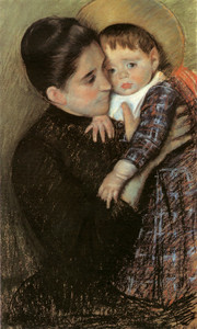 Art Prints of Helene de Septeuil by Mary Cassatt