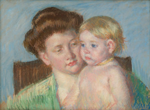Art Prints of Mother and Child, 1910 by Mary Cassatt