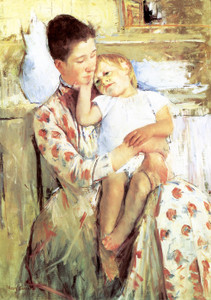 Art Prints of Mother and Child IV by Mary Cassatt