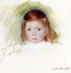 Art Prints of Portrait of Ellen Mary Cassatt by Mary Cassatt