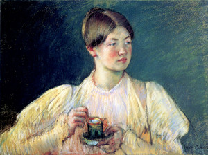 Art Prints of The Cup of Tea II by Mary Cassatt