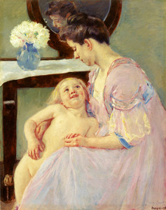 Art Prints of The Mauve Dressing Gown by Mary Cassatt