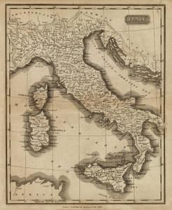 Art Prints of Italy, 1825 (0124008) by Matthew Carey