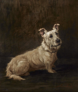 Art Prints of Skye Terrier by Maud Earl