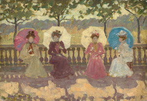 Art Prints of In the Park Paris by Maurice Prendergast