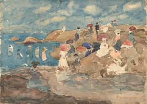 Art Prints of Revere Beach by Maurice Prendergast