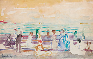 Art Prints of The Beach by Maurice Prendergast