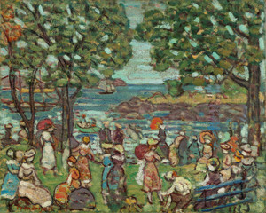 Art Prints of Salem Cove by Maurice Prendergast