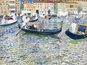 Art Prints of Grand Canal, Venice by Maurice Prendergast