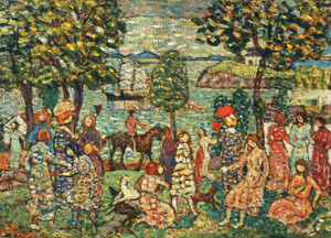 Art Prints of Fantasy by Maurice Prendergast