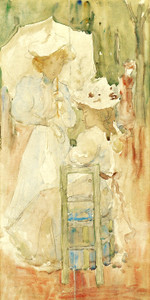 Art Prints of Two Woman in a Park by Maurice Prendergast