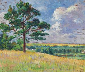 Art Prints of Landscape near Mereville by Maximilien Luce
