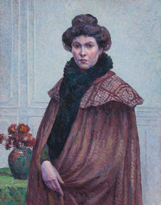 Art Prints of Portrait of Madame Luce by Maximilien Luce