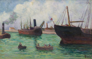 Art Prints of Treport by Maximilien Luce