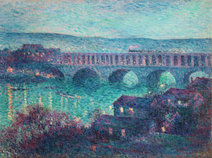 Art Prints of The Viaduct of Auteuil by Maximilien Luce