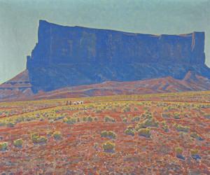 Art Prints of The Monument Navajo Reservation, Arizona by Maynard Dixon