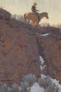 Art Prints of The Lone Trail by Maynard Dixon