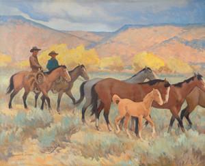 Coming Home by Maynard Dixon | Fine Art Print
