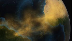 Art Prints of Saharan Dust by NASA