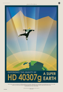 Art Prints of HD 40307 by NASA/JPL-Caltech