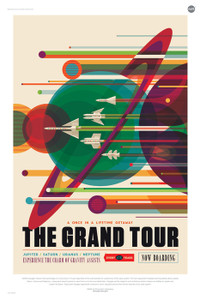 Art Prints of Grand Tour by NASA/JPL-Caltech