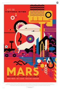 Art Prints of Mars by NASA/JPL-Caltech