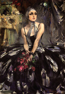 Art Prints of Ballerina Vera Fokina by Nicolai Fechin