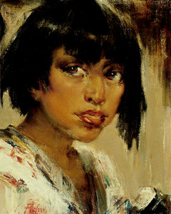 Art Prints of Portrait of an Indian Youth by Nicolai Fechin