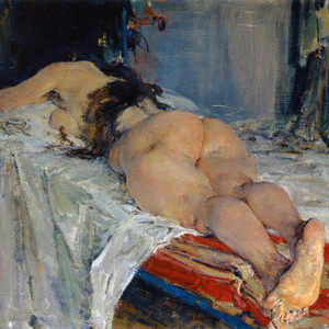 Art Prints of The Model by Nicolai Fechin