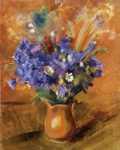 Art Prints of Cornflowers by Nikolai Andreevich Tyrsa